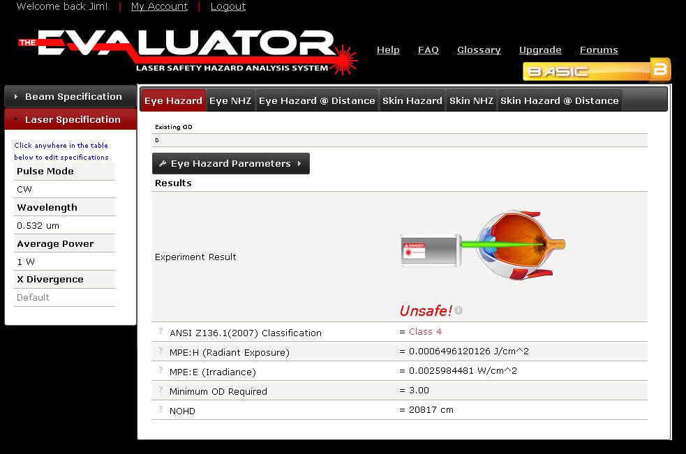 The Evaluator - Basic