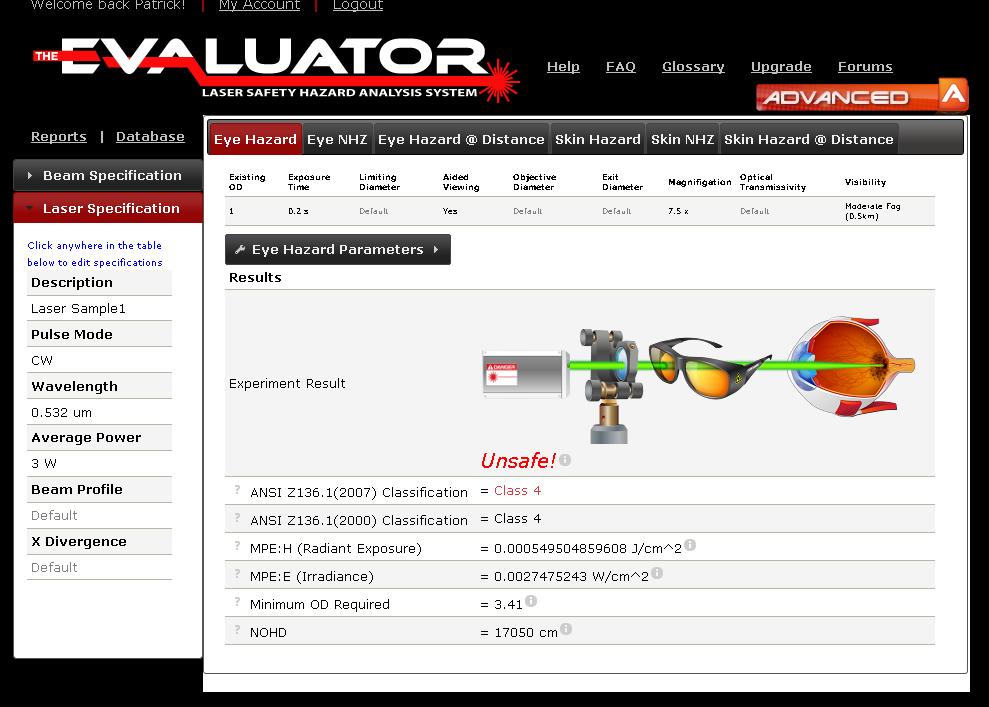 The Evaluator - Advanced