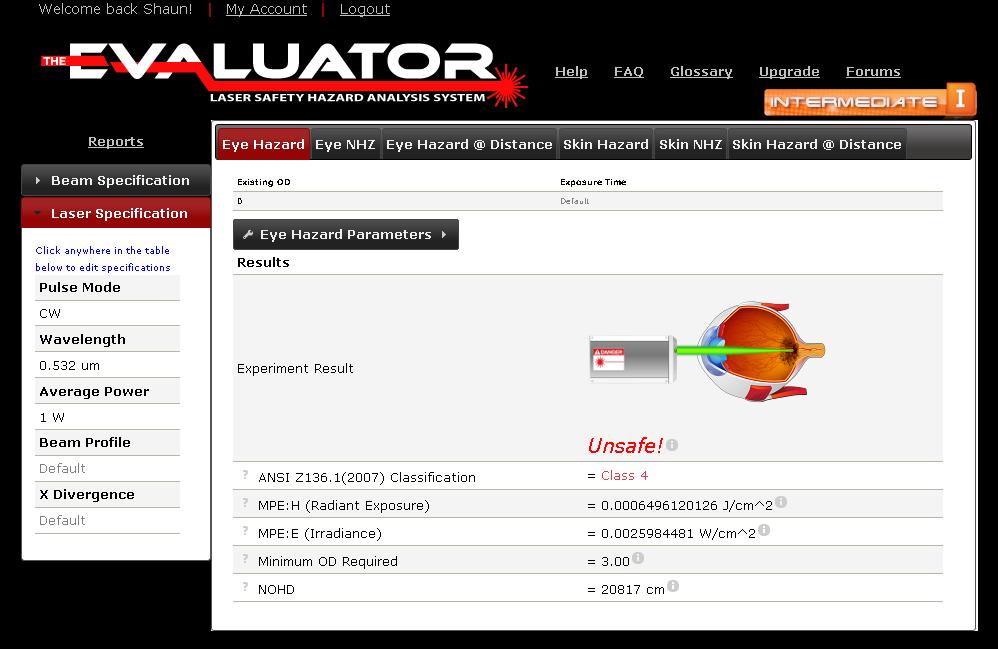 The Evaluator - Intermediate